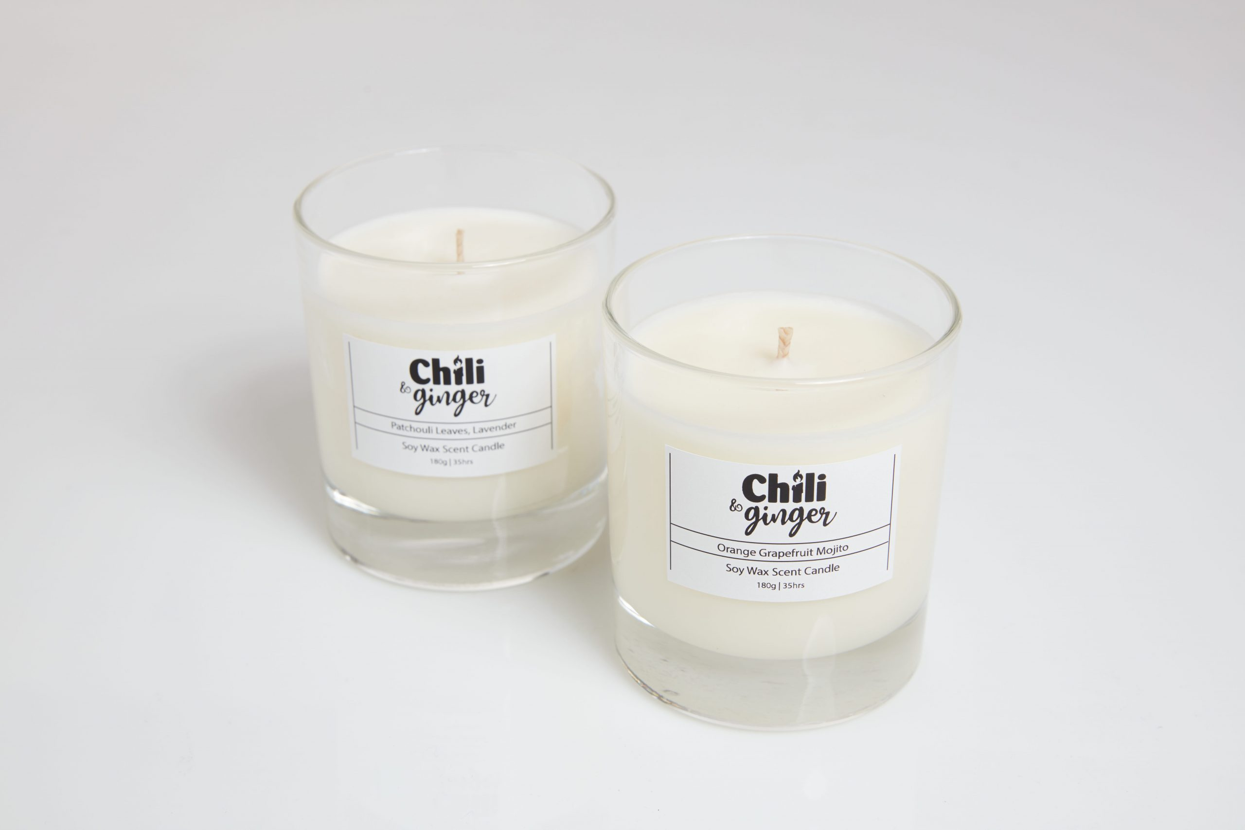 Essential Oils Candles -  Jars